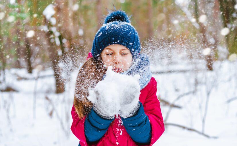 Sous la neige…
